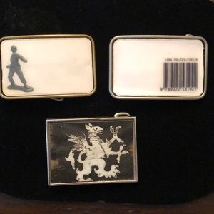 Other - Three Belt Buckles